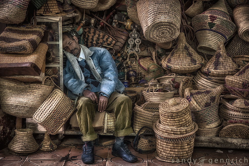 A Long Days Work-Marrakech-Morocco