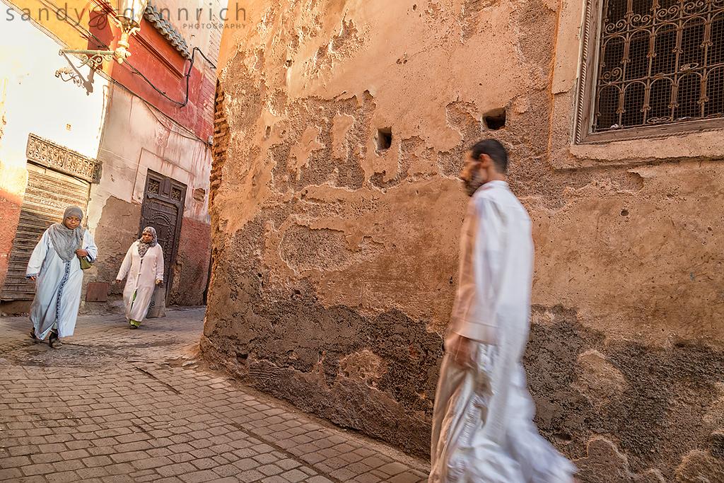 Alleyways - Marrakech Medina - Morocco