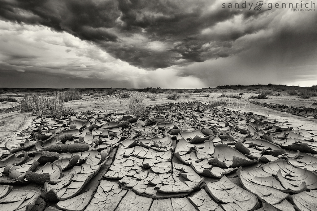 Monsoon Season - Bisti Badlands - Farrmington NM