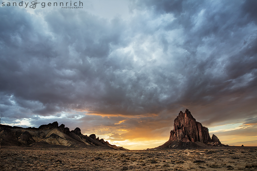 Out of the Earth - Shiprock - NM