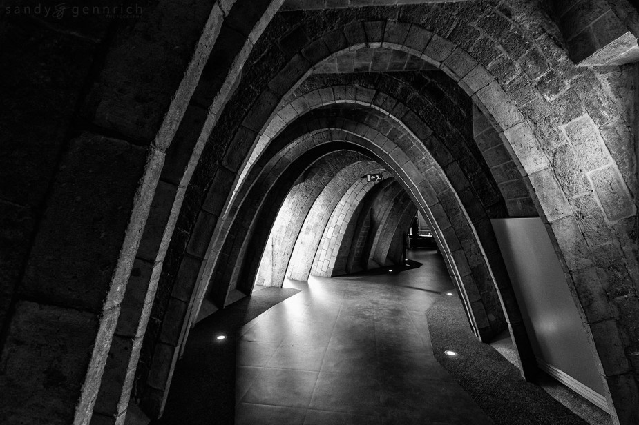 Attic Archways. ISO 1600. 16mm. 1/20th sec handheld @f5.6.  Processed In Nik Sliver Effects, Luminosity Masks, and Photoshop.